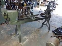 Torno mazzuti 1100 milímetros de barramento com motor e chave de ligar revisado