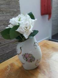 Vaso flores porcelana