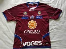 Camisa de futebol de jogo Caxias do sul tamanho G n° 9