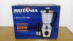 Liquidificador Britânia 800 W - 2,5L - Novo - 220V