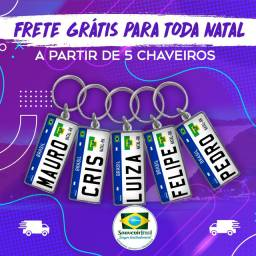 Chaveiro Placa Mercosul