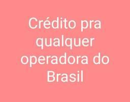 Crédito pra qualquer operadora do Brasil