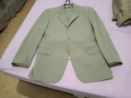 Jaqueta de couro + terno