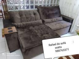 Disponivel para entrega (sofá retratil e reclinável)