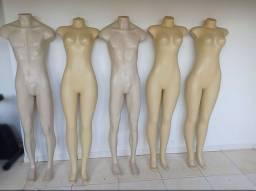 Manequins de corpo inteiro usado
