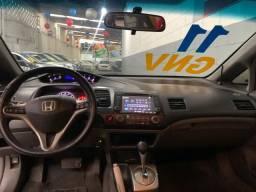 Honda Civic 1.8 LXL Completão GNV Automático Couro Multimídia (Preço Real)