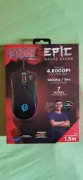 Mouse Gamer EPIC - *Edição Especial Flakes Power*<br>