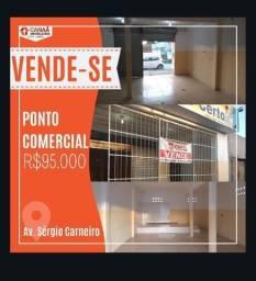 Ponto comercial na Av. Sergio Carneiro