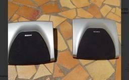 Par de caixas acústicas surround do mini system sony grx 8 ou grx10av