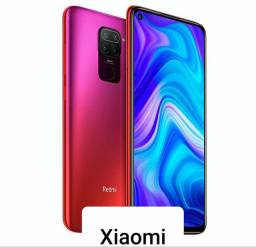 "Xiaomi Redmi Note 9 128GB / 4GB RAM / 4G / Tela 6.53"" / Câmeras 48MP - Scarlet Red<br><br>"
