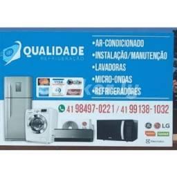 Geladeira ar condicionado máquina de lavar