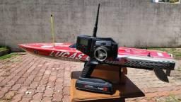 Lancha Elétrica RC - OuterLimits TFL 1126 880mm com Rádio Jr Racing Xs3 Pro (High Speed)