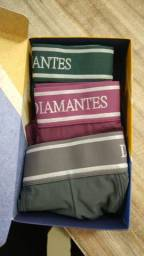 Box da diamantes lingerie