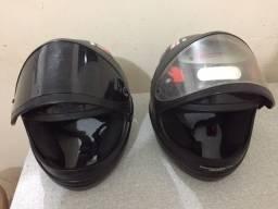 Vendo dois capacetes san marino N 56