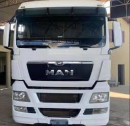 Caminhão de Man Parcelado Branco  2018