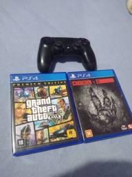 GAT V PS4 + EVOLVE PS4+ CONTROLE PS4 COMBÃO