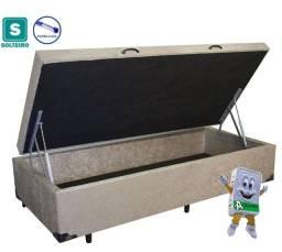 Base Box Baú Solteiro AColchões 88x188x41