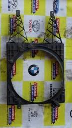 defletor suporte carcaça ventoinha vw fox polo 2003 2008 com ar sistema de 1 ventoinha