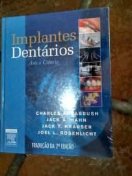 Implantes Dentários Arte e Ciência, Excelente Livro para dentistas