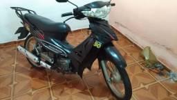 Moto Zig 50 da Dafra Motor com placa e documentos recibo e verdinho