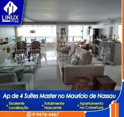 Apartamento de 500 m2 com 05 quartos (04 suites) para venda em Caruaru/PE