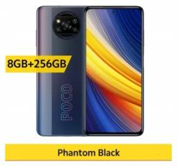 Smartphone Celular Xiaomi Poco X3 Pro 256gb / 8gb + Capa e Película Parcelo Pronta Entrega