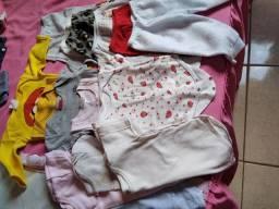 Lotinho roupas de bebê