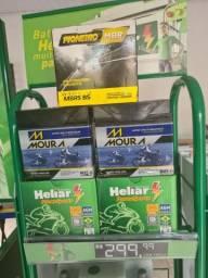 Bateria de moto bateria de moto bateria de moto bateria 5ah 6ah 7ah moura heliar moto