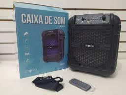Caixa de SOM Inova Portátil USB Cartão Memória AUX Rad-8534