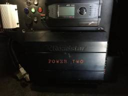 Amplificador Digital Roadstar 4800 Power Two Módulo Potência