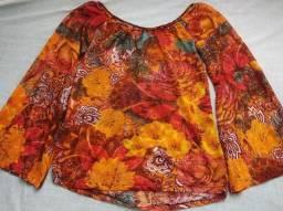 Blusinha florida