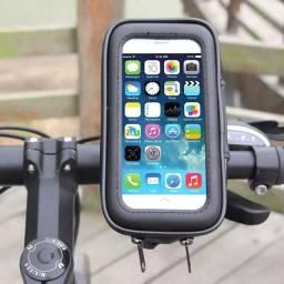 Suporte Celular Guidão Impermeável Moto Bicicleta