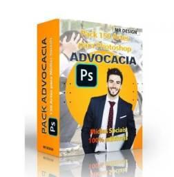 Pack 130 Artes Photoshop Advocacia