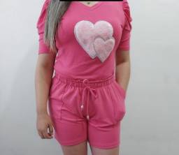 Título do anúncio: Shorts Moletinho Tam P Na Etiqueta