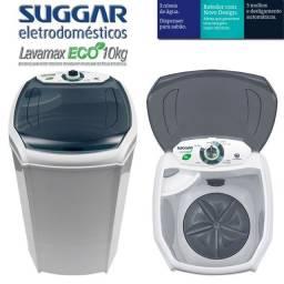 Tanquinho Suggar 10 Kg Lavamax Eco com Dispenser para Sabão - Branco
