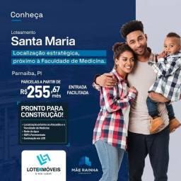 Lotes financiado em Parnaíba!!prontos para construçao vizinho a faculdade de medicina