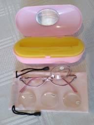 Óculos Maquiagem Rosa