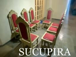 8 Cadeira ministerial de sucupira - relíquia