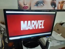 Tv monitor gamer 23 full hd c/woofer saida HDMI vga fones linda imagem superior