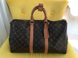Mala Louis Vuitton Keepal 45 Original
