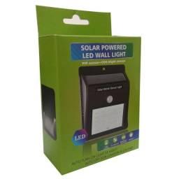 Luminária Autônoma (Sensor de presença, carregamento energia solar) Arandela