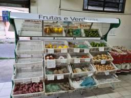 Expositor de frutas e verduras