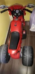 Vendo moto eletrica infantil super moto