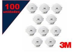 Mascara Respirador 9320 3m Pff-2 Aura (kit 100 Unidades)