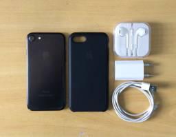 Iphone 7 32Gb Completo Aceito Cartão