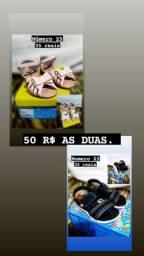 Calçados feminino e masculino
