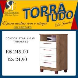 Cômoda Nova (OFERTA)