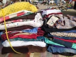 Lote roupas para brechó