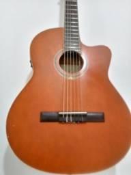 Vendo violão michael com capa acolchoada