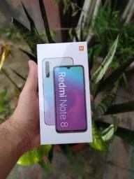 Xiaomi Redmi Note 8 Branco 64GB - Lacrado, Com Garantia